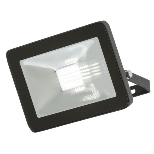 20 Watt IP65 LED Black Die-Cast Aluminium Floodlight - Steel City Lighting