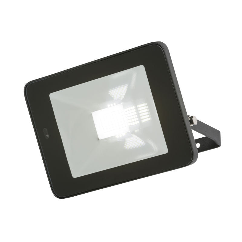 30 Watt IP65 LED Die-Cast Aluminium Floodlight with Microwave Sensor