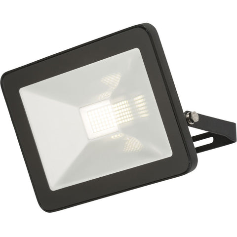 30 Watt IP65 LED Black Die-Cast Aluminium Floodlight