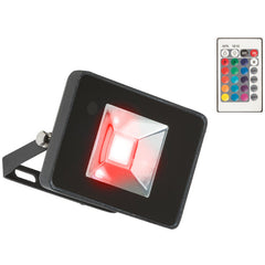 50W 230V IP65 RGB LED Black Die-Cast Aluminium Floodlight