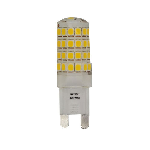 4 Watt Cool White (4000K) LED G9 Capsule Lamp