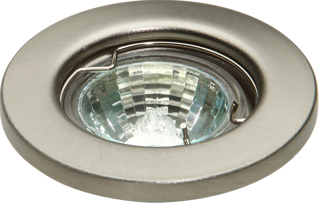 IP20 12V 35W max. L/V Brushed Chrome Downlight
