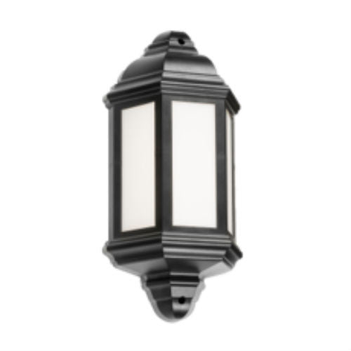 8 Watt IP54 LED Half Wall Lantern - Steel City Lighting
