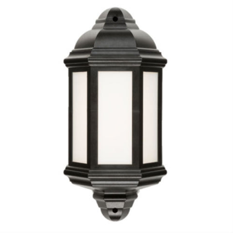8 Watt IP54 LED Half Wall Lantern