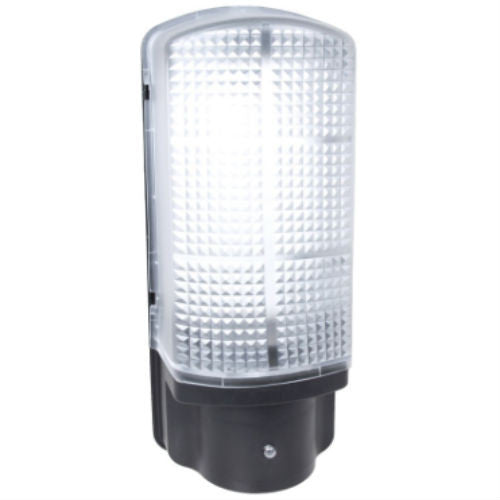 6 Watt IP44 Polycarbonate LED Dusk to Dawn Bulkhead - Steel City Lighting