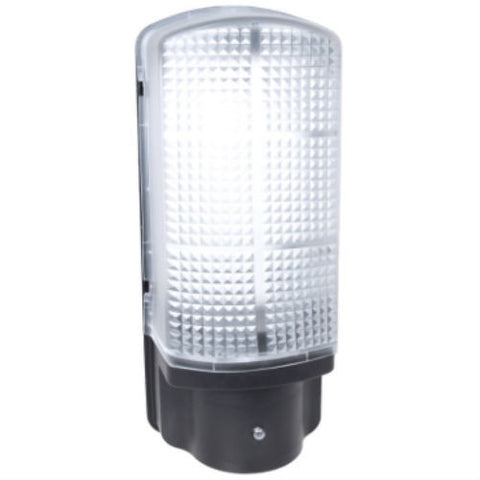 6 Watt IP44 Polycarbonate LED Dusk to Dawn Bulkhead