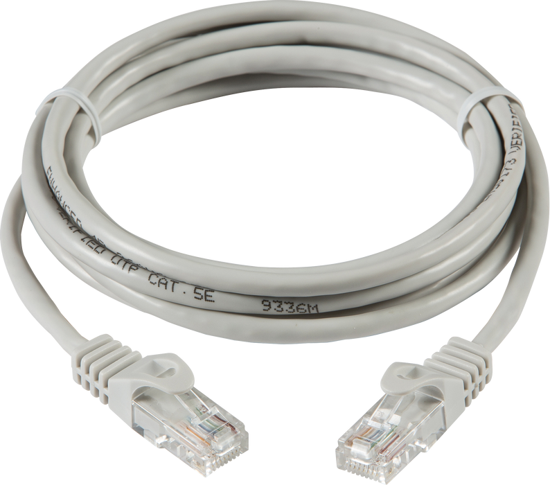 3m UTP CAT5e Networking Cable - Grey