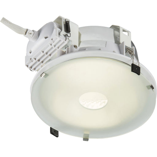 PLDL 220mm Frosted Drop Glass Accessory for PL Downlights - Steel City Lighting