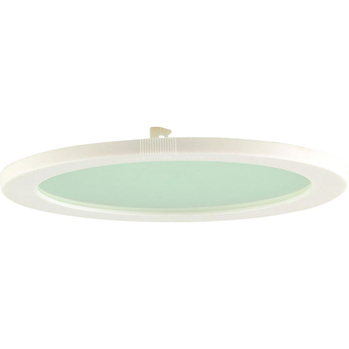 PLDL 230mm White Trim Clear Glass Accessory for PL Downlights - Steel City Lighting