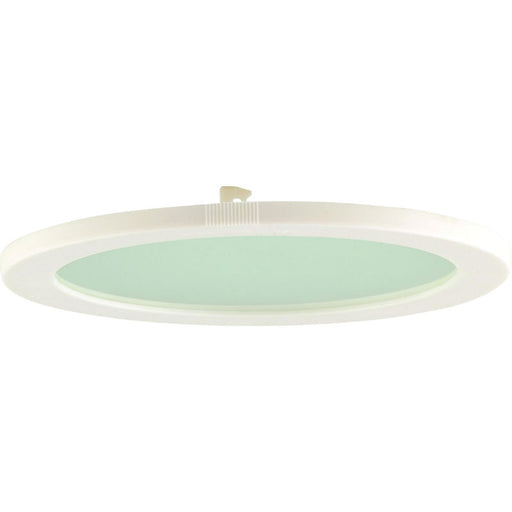 PLDL 230mm White Trim Sanded Glass Accessory for PL Downlights - Steel City Lighting