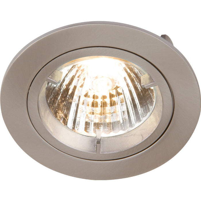 Fixed Twist & Lock Downlight (GU10/MR16) - Steel City Lighting