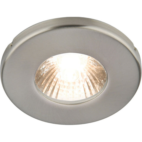 35 Watt GU10 IP54 Brushed Chrome Bathroom Downlight