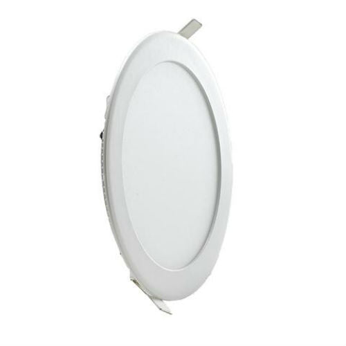 12 Watt 170mm Circular LED Panel with White Trim - Steel City Lighting