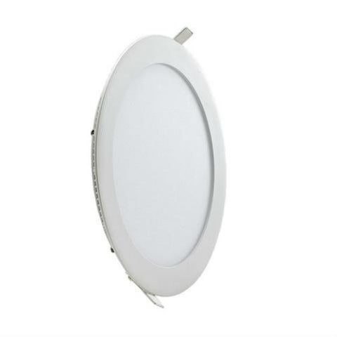 15 Watt 190mm Circular LED Panel with White Trim