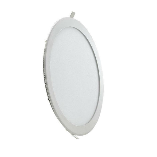 18 Watt 225mm Circular LED Panel with White Trim - Steel City Lighting