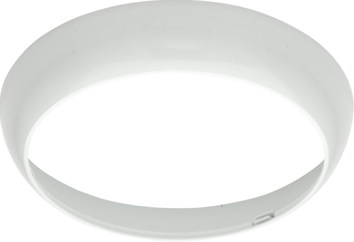 White Trim for TPB14, TPB28 and TPB38 Bulkheads - Steel City Lighting