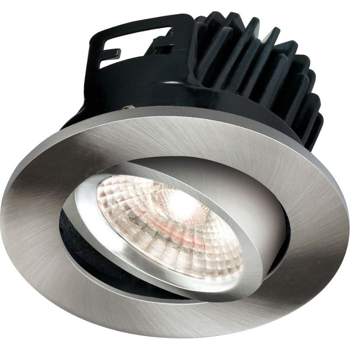 7 Watt 490lm Fire Rated Cool White LED Tilt Downlight - Steel City Lighting