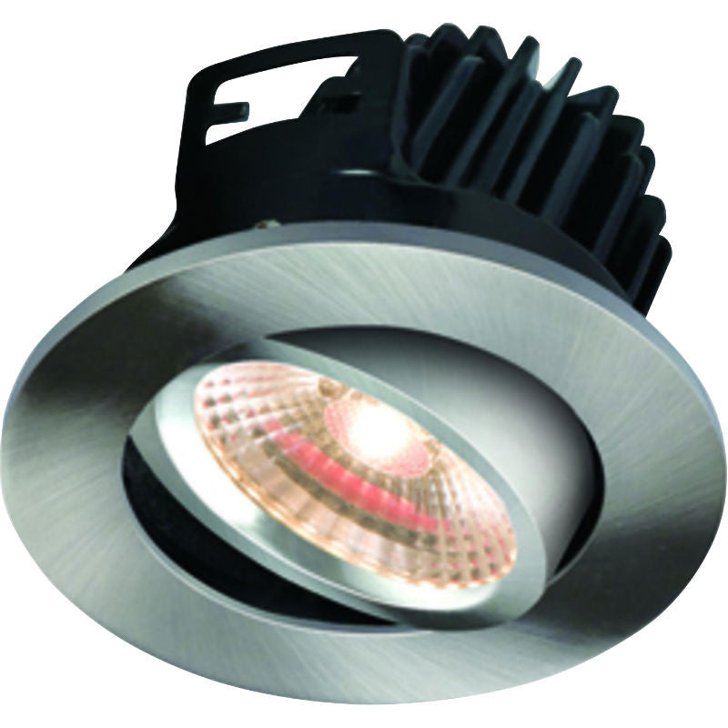 7 Watt 460lm Fire Rated Warm White LED Tilt Downlight
