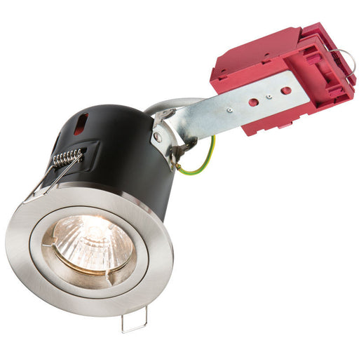 50 WATT Fixed GU10 230V IC Fire Rated Downlight - Steel City Lighting