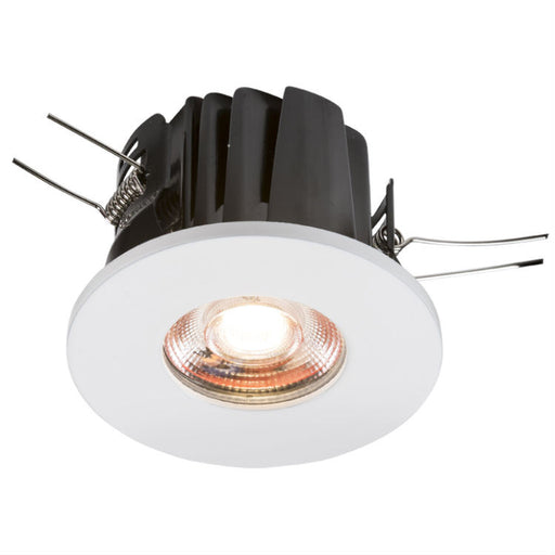 8 Watt IP65 Fire-Rated Cool White LED Downlight - Steel City Lighting