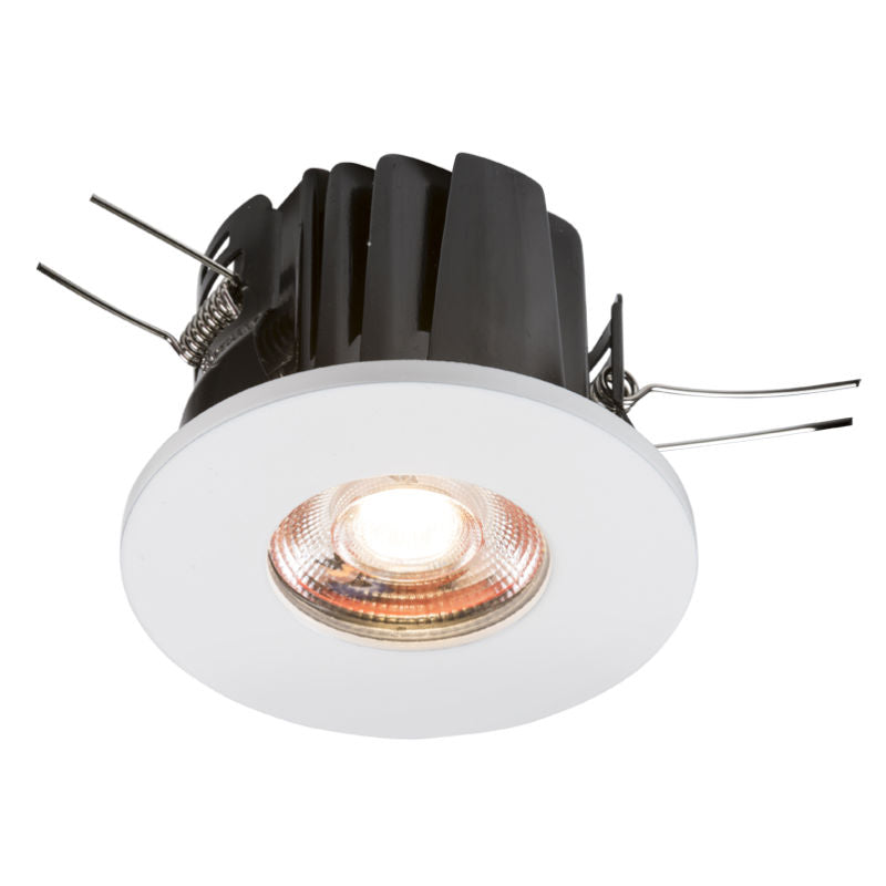 8 watt ip65 fire rated warm white led downlight. Black Bedroom Furniture Sets. Home Design Ideas