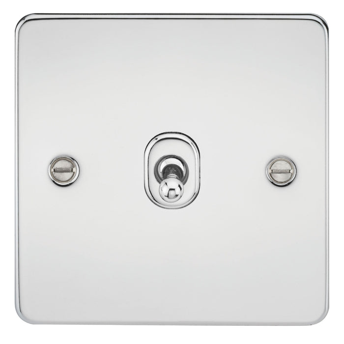 10A 1G Flat Plate 2-Way Toggle Switch - Steel City Lighting