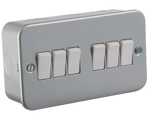 10A 6G 2-Way Switch - Steel City Lighting