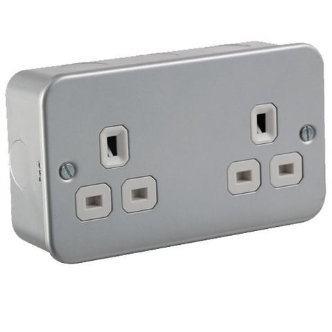 13A 2G Unswitched Socket