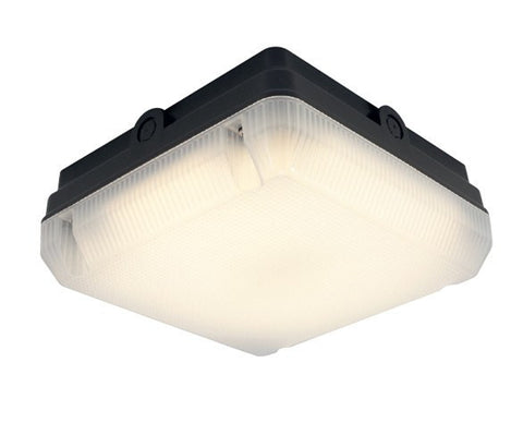 14 Watt 1,232lm LED Square IP65 Surface Bulkhead