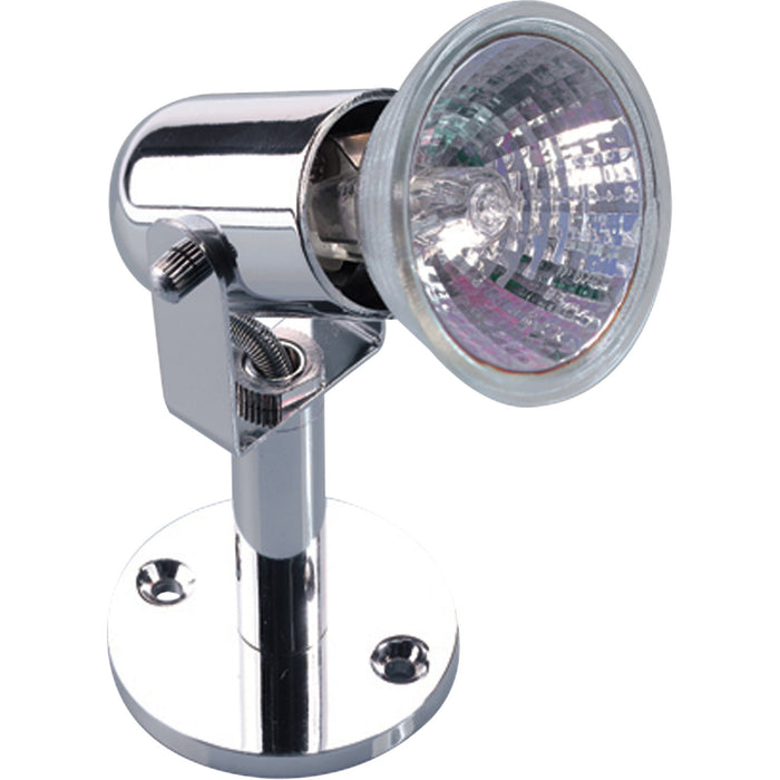 100mm Low Voltage Chrome Arm Display Spotlight - Steel City Lighting