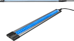 11 Watt Blue Linear LED Under Cabinet Strip Light