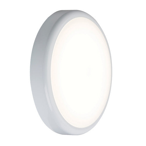 14 Watt 900lm LED Circular IP44 Bulkhead - Steel City Lighting