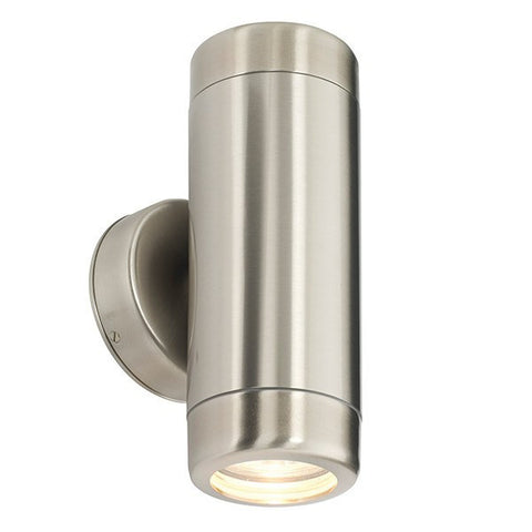 Atlantis 2 x 35 Watt GU10 IP65 Stainless Steel Up/Down Wall Light