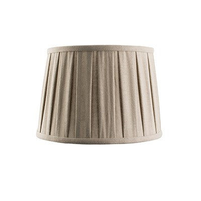 Cleo shade - taupe faux linen