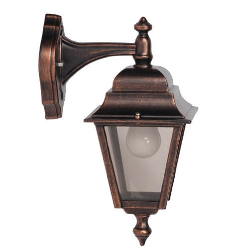 Nizza Traditional Top Arm Wall Lantern - Steel City Lighting
