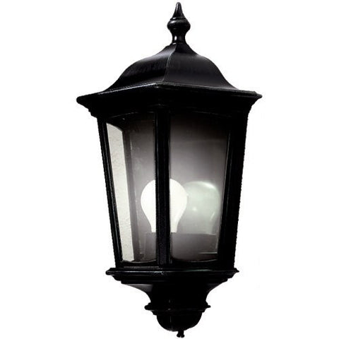 Roma Black Traditional Wall Light