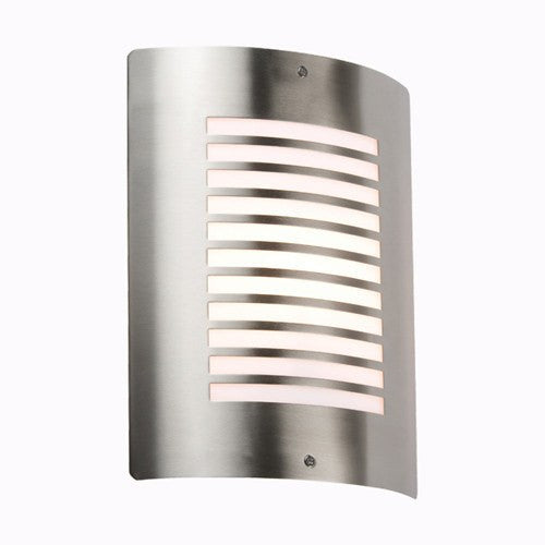 Stainless Steel Finish IP44 Outdoor Wall Light - Steel City Lighting