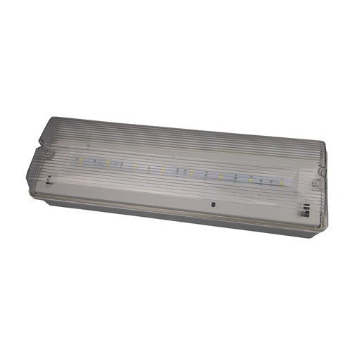 4.5 Watt LED Maintained IP65 Emergency Bulkhead c/w Legend Kit