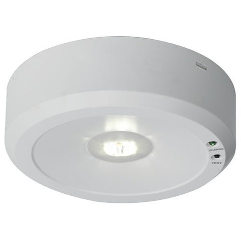 Falcon 5 Watt Escape Route Lens LED Self Test Surface Emergency Downlight