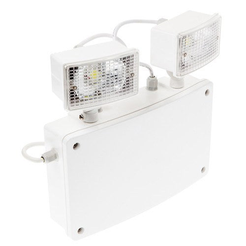 Grove 2 IP65 2 x 5 Watt Non Maintained LED Twinspot - Steel City Lighting