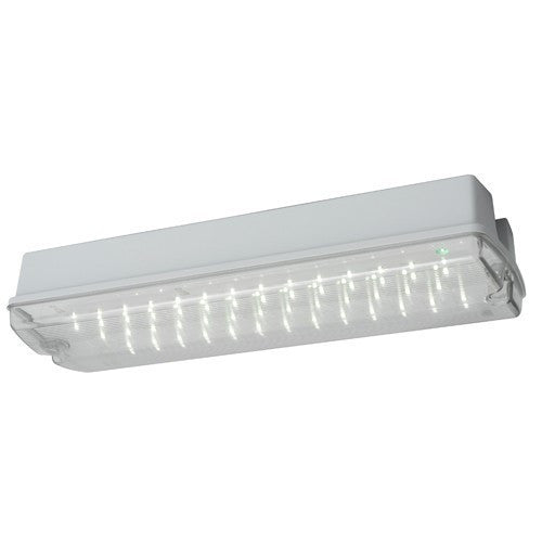 Centurion 7 Watt IP65 LED Self-Test Emergency Bulkhead - Steel City Lighting
