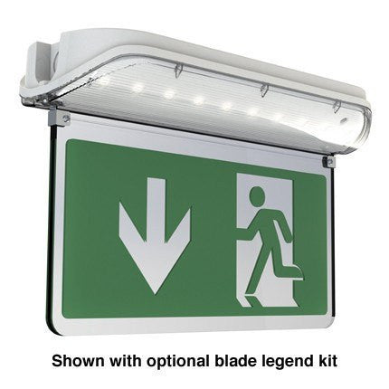 Harrier 5W LED Blade Exit Sign