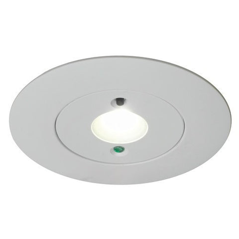 Led emergency downlights emergency lighting scl direct for Recessed area