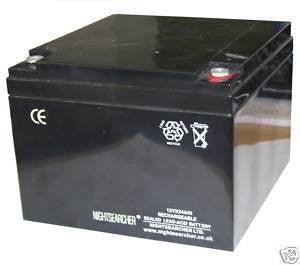 12v 24 A/h Replacement Battery - Steel City Lighting
