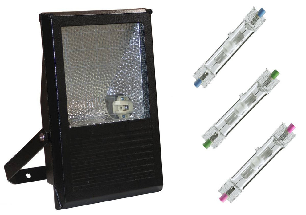 150 Watt Metal Halide Floodlight with Colour Lamp - Steel City Lighting