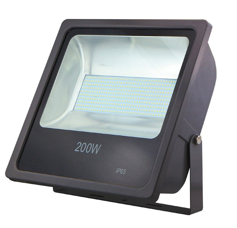 200 Watt IP65 Daylight (6500K) SMD LED Black Floodlight