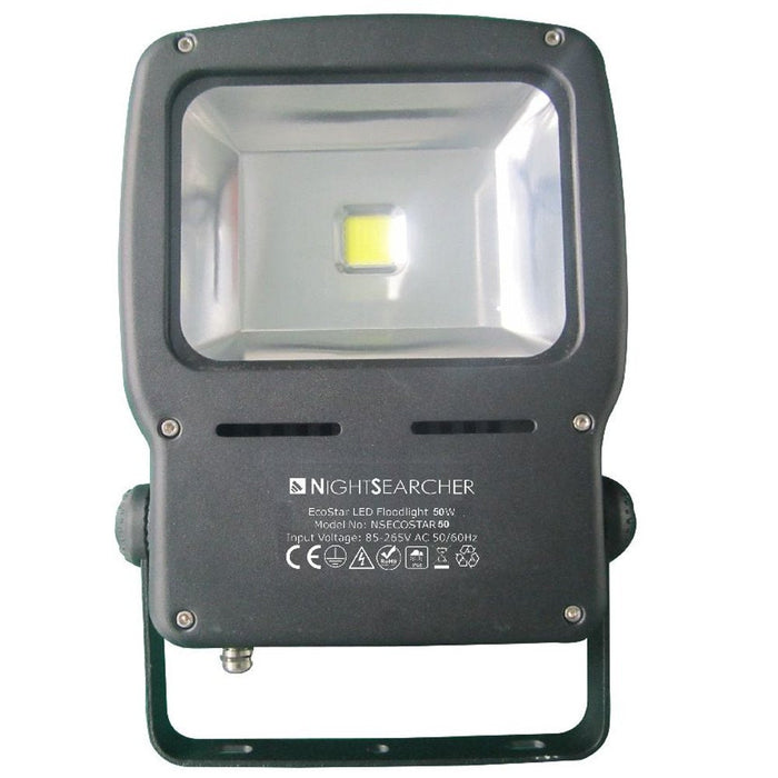 EcoStar 50 Watt, 5000 lumens LED Floodlight - Steel City Lighting