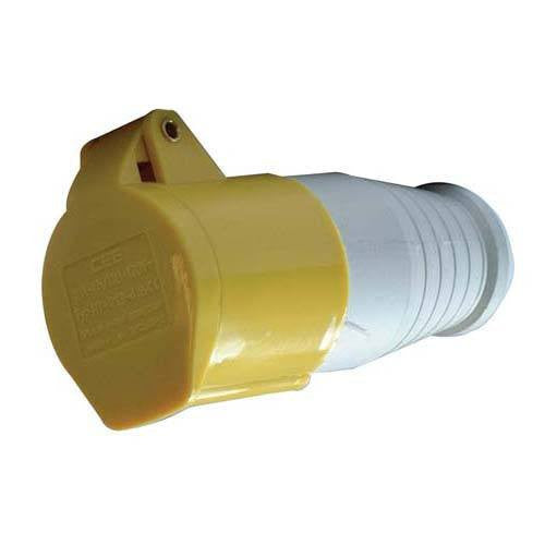 110 Volt 16 Amp IP44 Coupler - Steel City Lighting