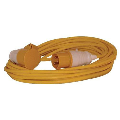 14 Metre 110 Volt 16 Amp Extension Lead