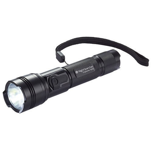 Explorer-800 USB Rechargeable LED Flashlight - Steel City Lighting